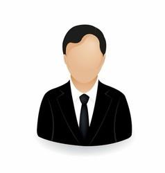 Businessman icon symbol logo stock vector