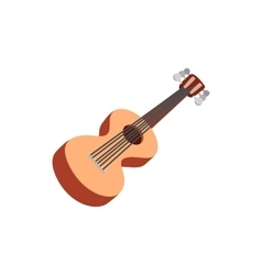 Classic guitar icon cartoon style vector image vector image