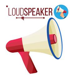 Loudspeaker icon megaphone bullhorn vector