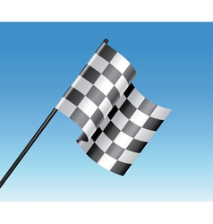 Racing flag vector
