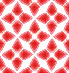 Geometric abstract red seamless pattern vector