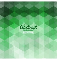 Abstract hexagonal Shape Background for Business vector image