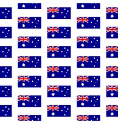 Australia flag seamless pattern vector