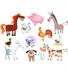 farm animal vector image vector image
