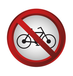 forbidden signs design vector image vector image