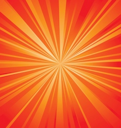 red shining vector image vector image