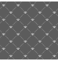 Royal wallpaper in old style design vector