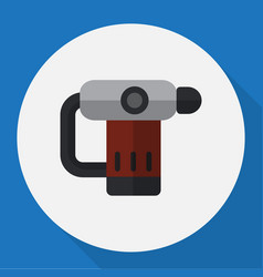 of electric symbol on nailer vector image