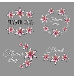 Flowershop vector