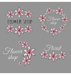 FlowerShop vector image