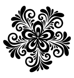 Floral pattern a design element vector