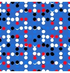 Pattern with scattered hand drawn dots vector