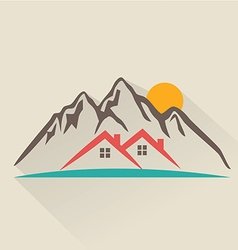 House rental icon vector