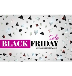 Black friday sale flyer vector