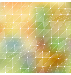 abstract mesh background chaotically vector image vector image