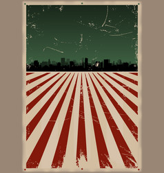 Fourth of july poster vector