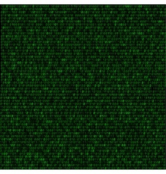 green code background vector image vector image