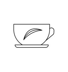 infusion tea icon vector image vector image