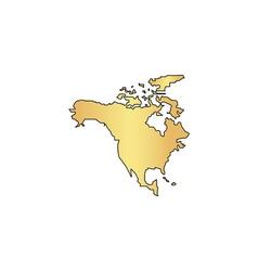 North america computer symbol vector
