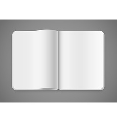 Notepad template vector image