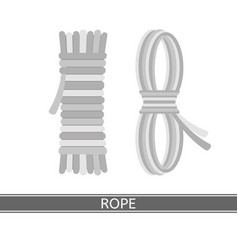 Rope isolated vector