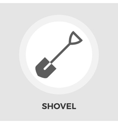 Shovel flat icon vector