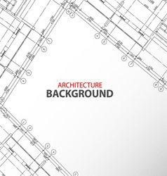 New architecture background vector image vector image