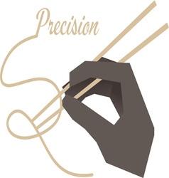 Precision vector