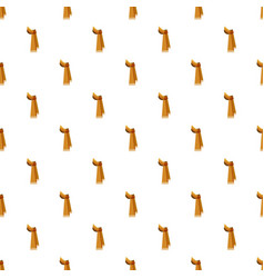 Winter scarf pattern vector