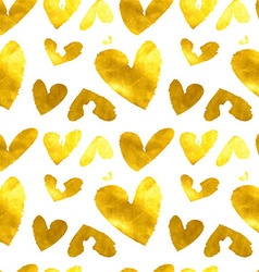 Hearts seamless abstract pattern vector