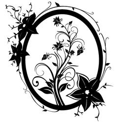 fram flowers 01 vector image vector image