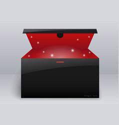 Magic box or gift vector