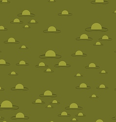 Swamp seamless pattern big green morass texture vector