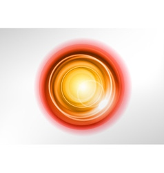 background orange light center vector image