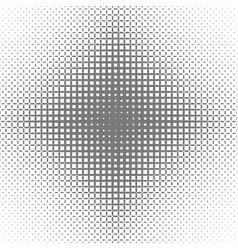 Abstract symmetric halftone ellipse grid pattern vector