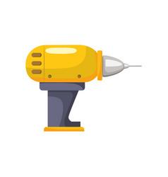 drill equipment service industry repair vector image