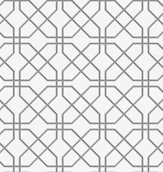 Perforated crossing grids vector