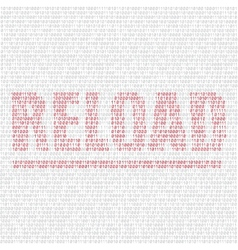 reload code background vector image vector image
