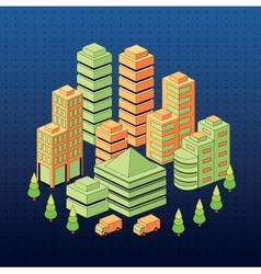 Urban vector image vector image
