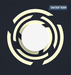 background flat design vector image vector image