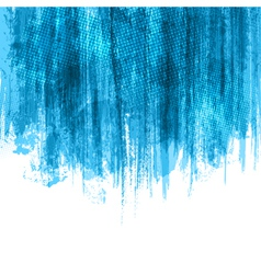 Blue Paint Splashes Background vector image