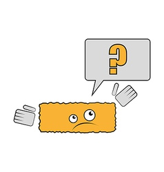 Joke brick have a question why he is rectangle vector