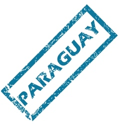 Paraguay rubber stamp vector image vector image