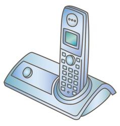 Wireless telephone vector