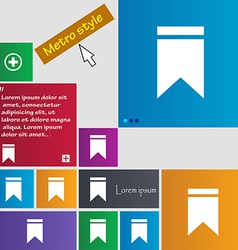 Web stickers tags and banners sale icon sign metro vector