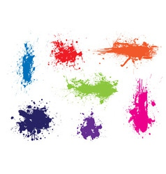 ink splat grunge  vector image