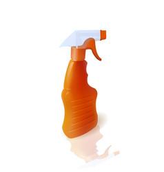 Bottle with sprayer vector