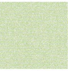 greenery sack seamless texture vector image vector image