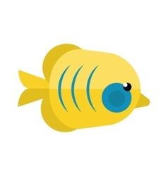 Reefs fish vector image