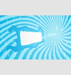 flame banner vector image vector image